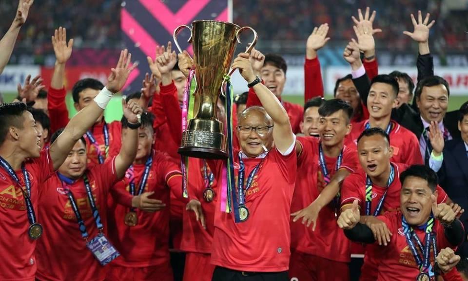 Chúc mừng đội tuyển Việt Nam vô địch Aff Suzuki Cup 2018